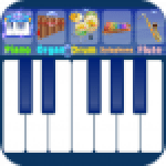 Blue Piano 1.8 APK MODs Unlimited Money Hack Download for android