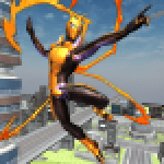 Flying Spider Hero Two -The Super Spider Hero 2020 0.2.7 APK MODs Unlimited Money Hack Download for android
