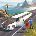 Limousine Taxi Driving Game 1.12 APK MODs Unlimited Money Hack Download for android
