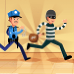 Robber Run Cops and Robbers Police Chasing Game 3.5 APK MODs Unlimited Money Hack Download for android