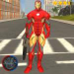 Super Iron Rope Hero – Vegas Fighting Crime 6.1 APK MODs Unlimited Money Hack Download for android