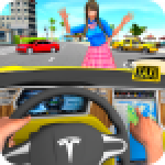 Taxi Driving Simulator City Car New Games 2021 0.3 APK MODs Unlimited Money Hack Download for android