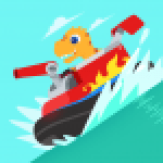Dinosaur Patrol Boat – Coast Guard Games for kids 1.0.8 APK MODs Unlimited Money Hack Download for android