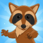 Roons Idle Raccoon Clicker APK MODs Unlimited Money Hack Download for android