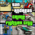 San Andreas Crime Fighter City APK MODs Unlimited Money Hack Download for android