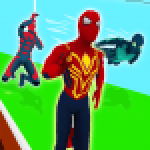 Superhero Transform Race Game APK MODs Unlimited Money Hack Download for android