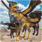 Wild Griffin Family Flying Eagle Simulator APK MODs Unlimited Money Hack Download for android