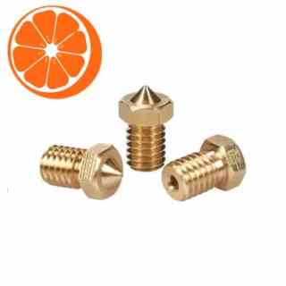 Hot Orange 3D E3D 1-75 Nozzle set