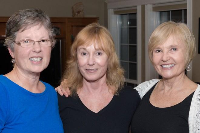The sissies: Carla, Starr, and Linda.