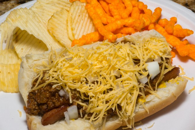 Dinner is served: Detroit Coney dog
