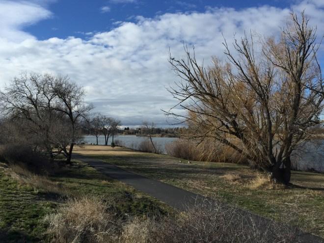 Snake River at Burley Idaho