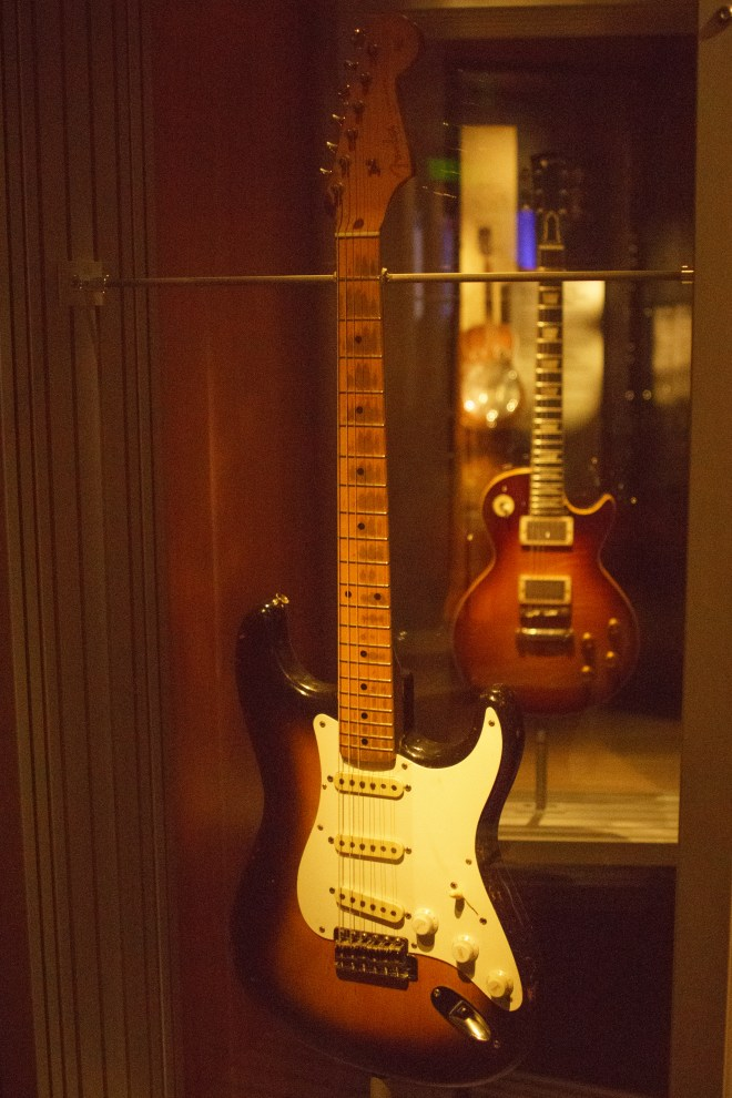 Eric Clapton's guitar from Layla and Other Assorted Love Songs!