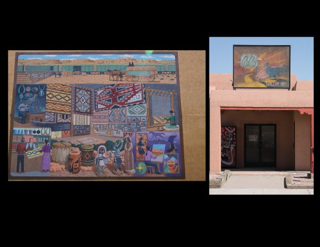 Murals in Gallup, New Mexico