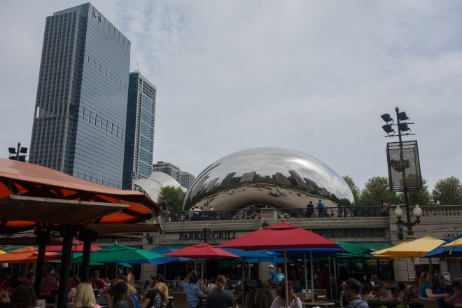 The Bean in Millennial Park - Chicago.