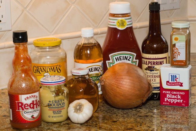 Best ever barbecue sauce ingredients.