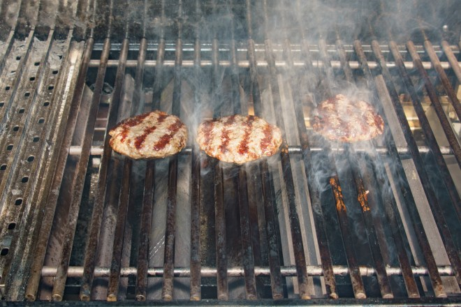 Grilled and flipped