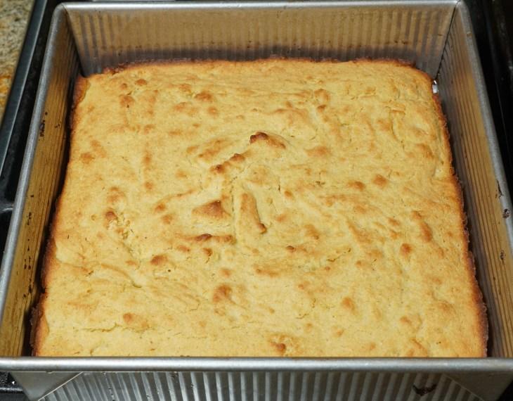 Corn bread made from Masa Harina