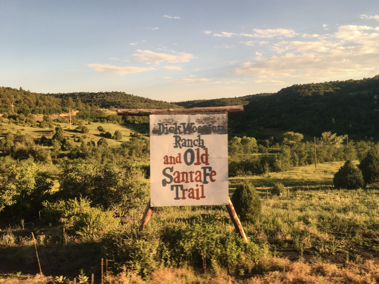 Rolling up Raton Pass on the old Santa Fe Trail