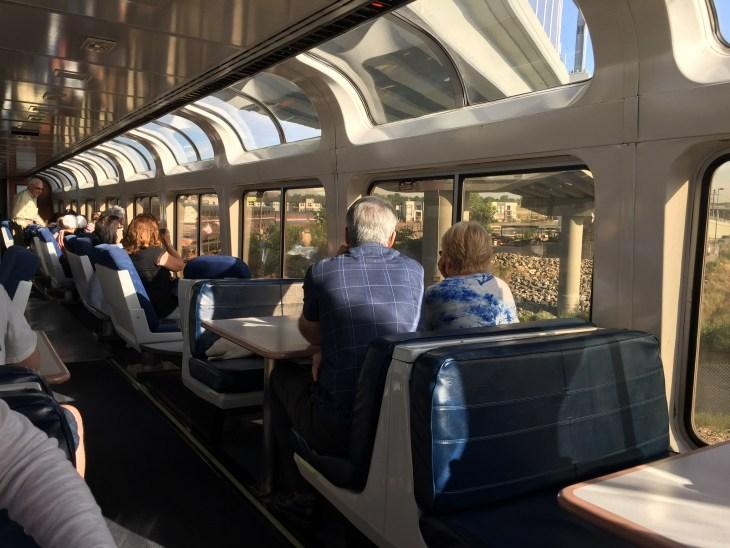 Amtrak SuperLiner Lounge Car