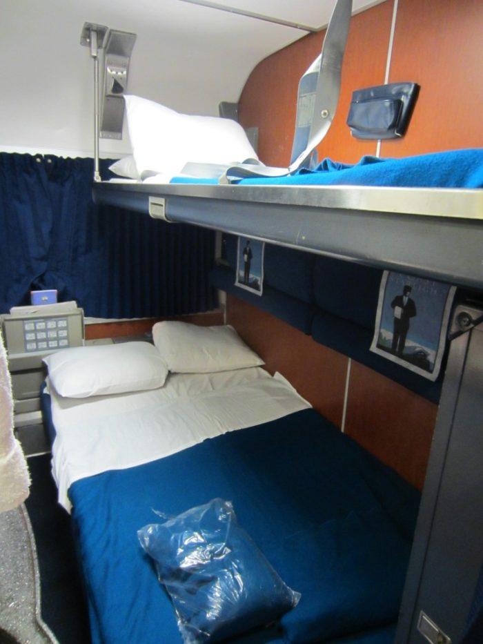 SuperLiner beds made up