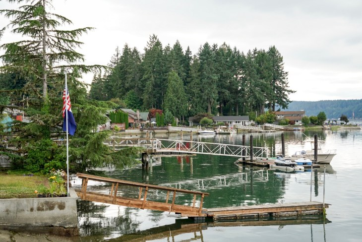 Rising tide on Hood Canal