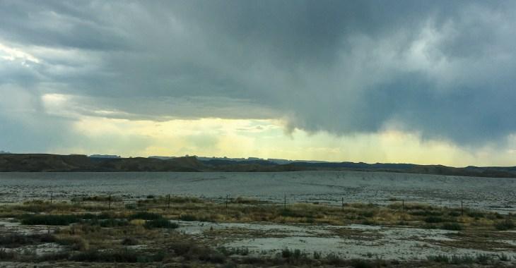 Storm clouds in Southwest Utah
