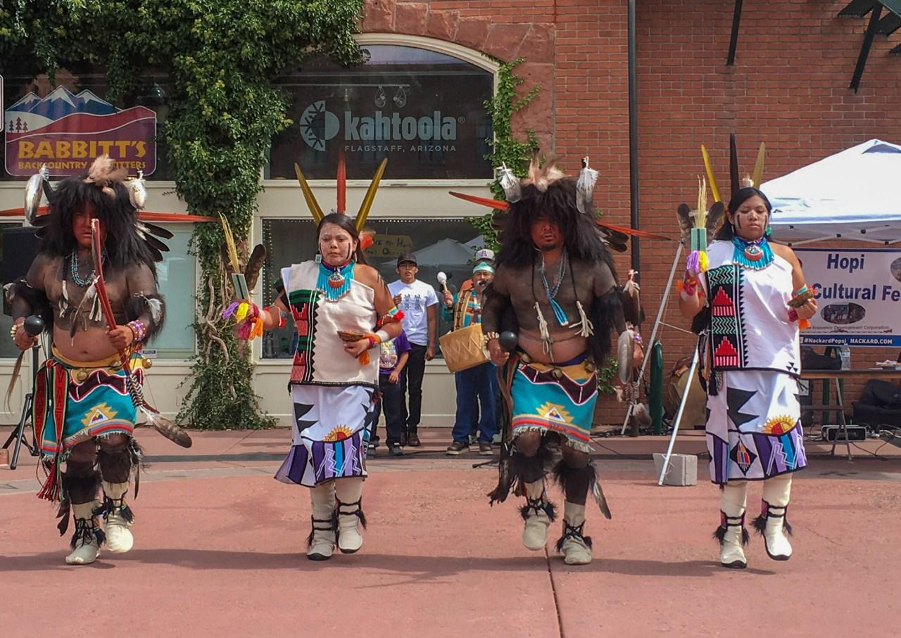 Hopi Cultural  Festival. Flagstaff, AZ