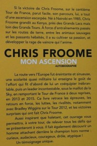 chris froom mon ascension motivation triathlon