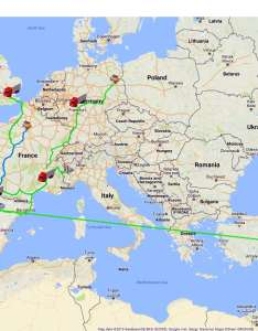 map of europe with routes highlighted in green and computer generated images semi also zara clothing company supply chain scm globe rh scmglobe