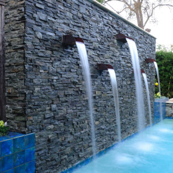 Custom Pool Water Features | Waterfalls, Gushers, Jets | Platinum ...