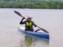 Jean tests a new Nelo 550