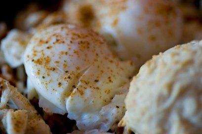 Hash Kitchen Lump Crab Hash Close Up
