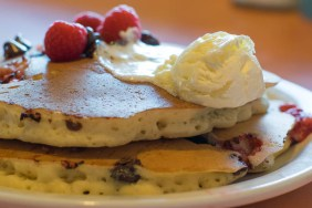 OBH Raspberry Chocolate Chip Pancakes