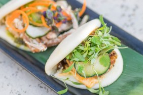 Sushi Roku Shrimp Steam Bun
