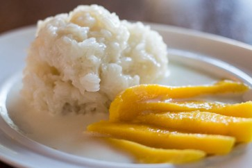 Water Chestnut Mango Sticky Rice