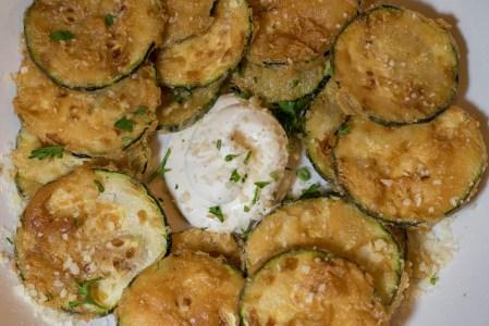 Zucchine Fritte at Wink 24 2geekswhoeat.com #food #Phoenix