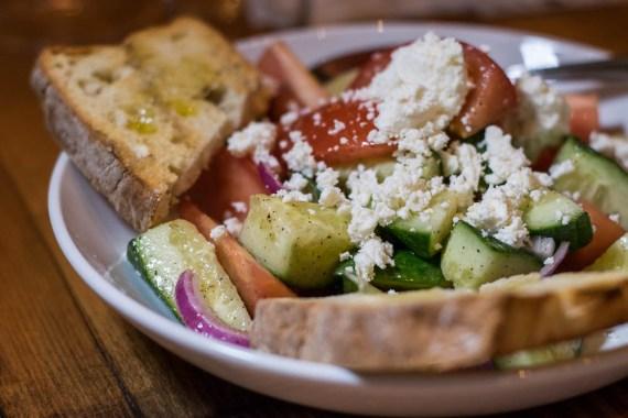 Greca Salad at Wink 24 2geekswhoeat.com #food #Phoenix