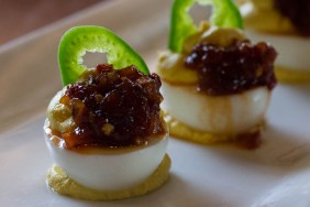 D'Vine Deviled Eggs