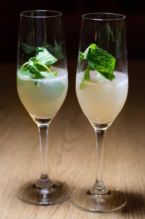 Course 1 Mezcal Cocktail
