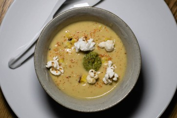 Chilled Heirloom Sweet Corn Soup