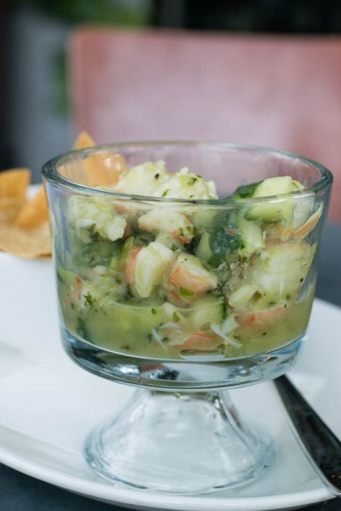 St. Francis Herbed Shrimp Ceviche