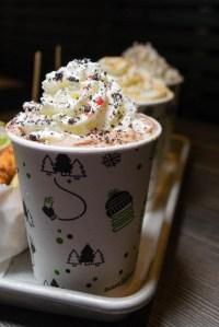 Shake Shack Chocolate Peppermint Shake