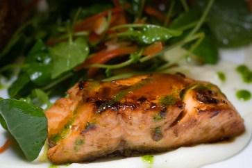 Steelhead Salmon at Zen Culinary 2geekswhoeat.com