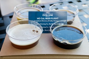 No Cal Beer Flight