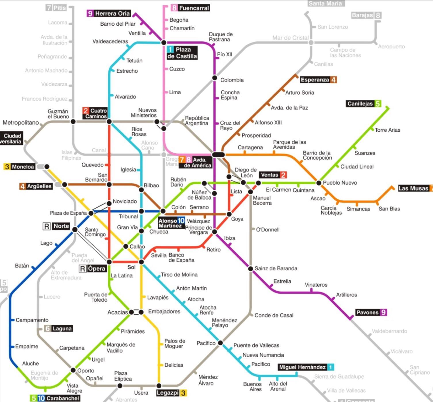 Madrid Spain Map Tourist.Madrid Spain 2 Girls 1 Backpack