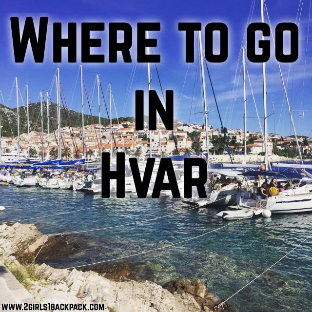 Where to go in Hvar
