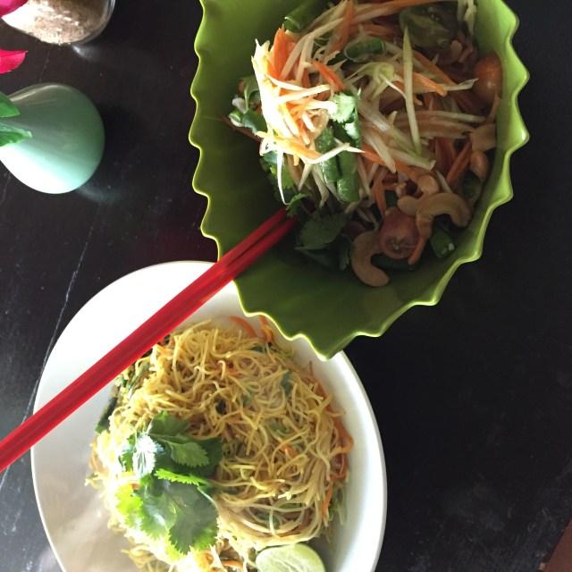 Green ginger noodle house, canggu, Bali