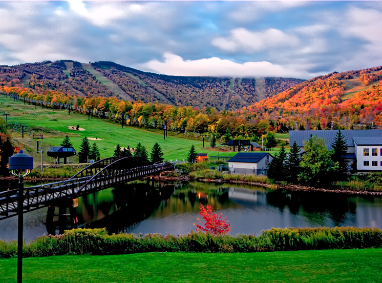 Vermont Fall Foliage Wallpaper Killington Vt Resort Area Inn