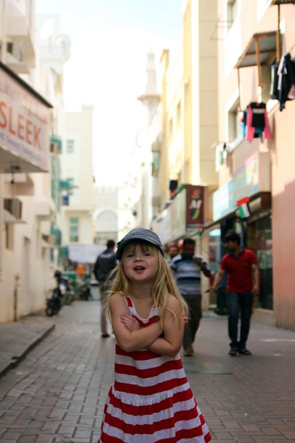 Signe på en gata i Deira