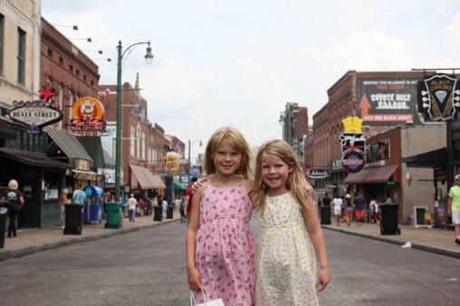 På Beale Street i Memphis